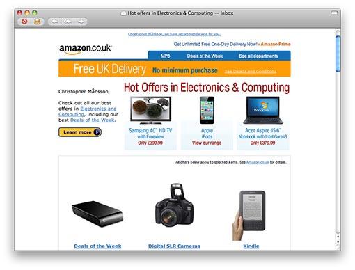 Heta erbjudanden inom elektronik och data