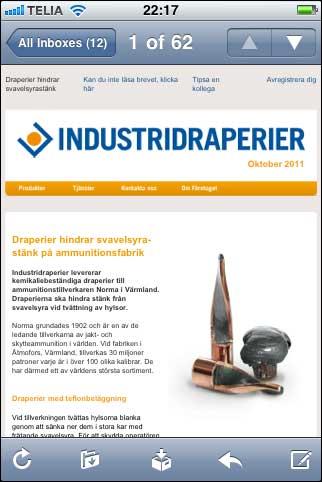 Industridraperier